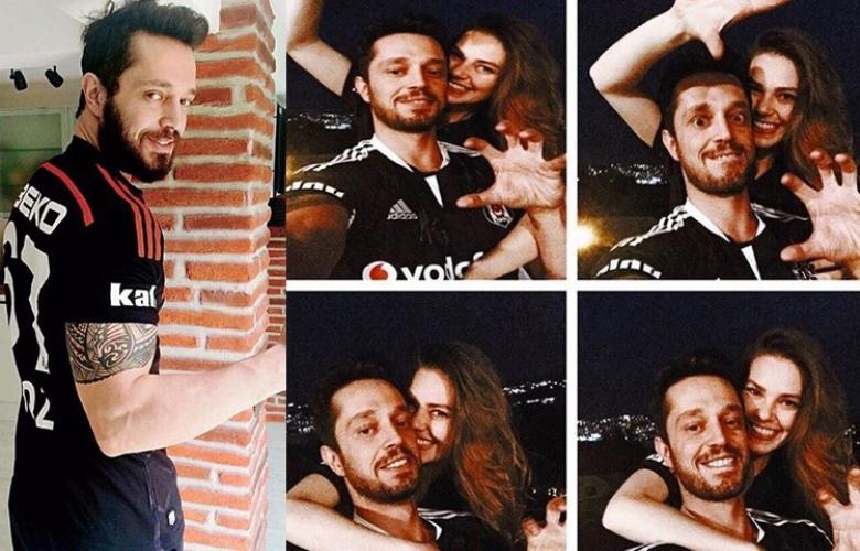 Murat Boz ve Aslı Enver'den şampiyonluk paylaşımı!