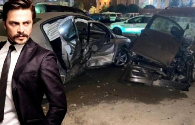 Ahmet Kural'ın karıştığı zincirleme kazada araçlar kullanılamaz hale geldi