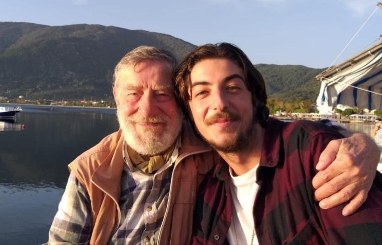 Ünlü oyuncu Ahmet Mekin'in torunu da oyuncu oldu