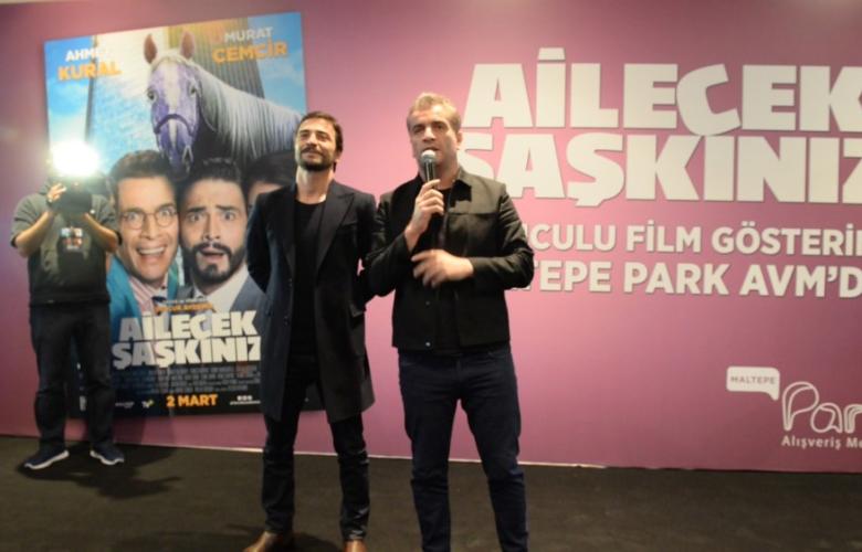 Ahmet Kural ve Murat Cemcir, alkışlar ve çığlıklarla karşılandılar!