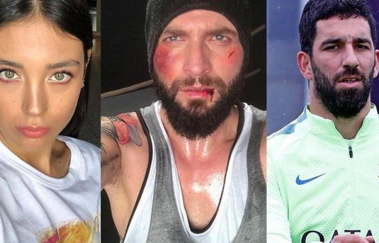 Arda Turan, şarkıcı Berkay'ın burnunu kırdı, hastanelik etti! İşte yılın magazin olayı!