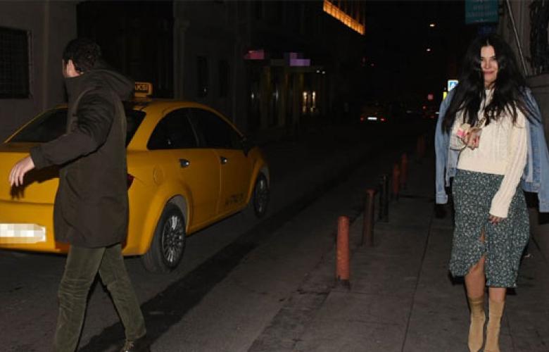 Asena Atalay'ın gece kaçamağı