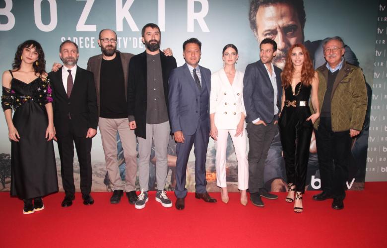 Yeni internet dizisi Bozkır'ın galası gerçekleşti