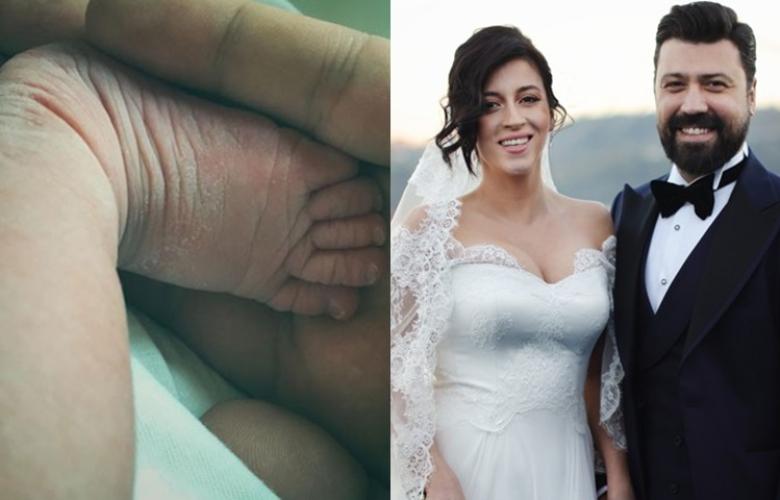 Bülent Emrah Parlak ve Burcu Gönder çiftinin bebekleri doğdu!