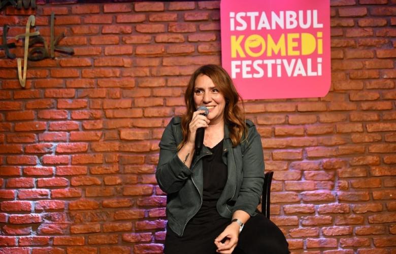 Komedi Festivali'nde kahkaha Yasemin Şefik'le zirve yaptı