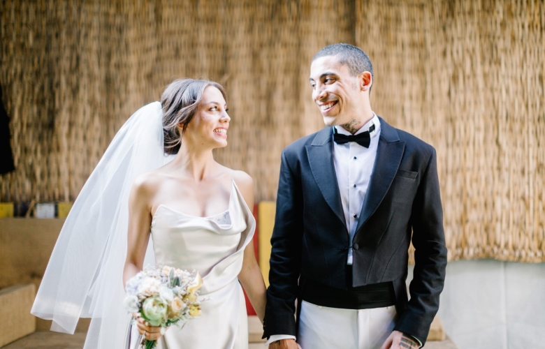 Öykü Karayel ve Can Bonomo evlendi!