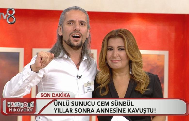 Yaşamdan Hikayeler, ünlü sunucu Cem Sünbül'ü 42 yıl sonra annesine kavuşturdu!