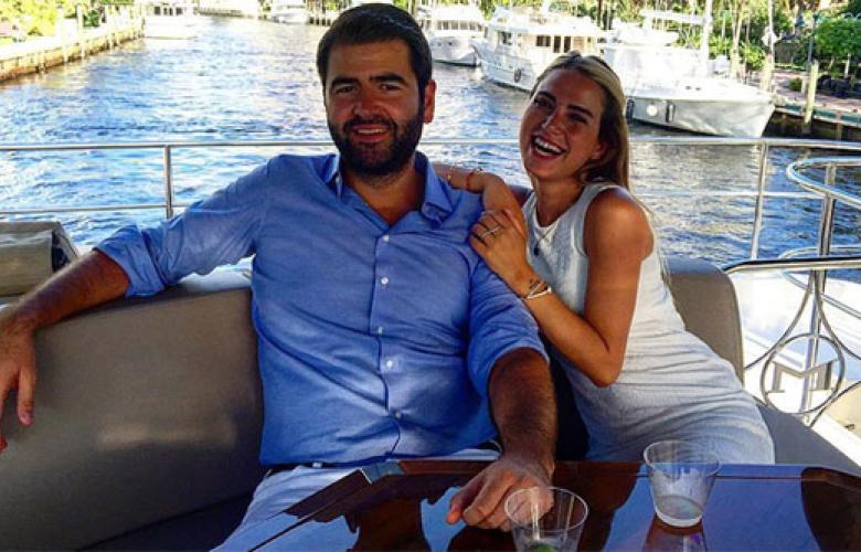 Ceyda Ateş ve sevgilisi Buğra Toplusoy Miami'de evleniyorlar
