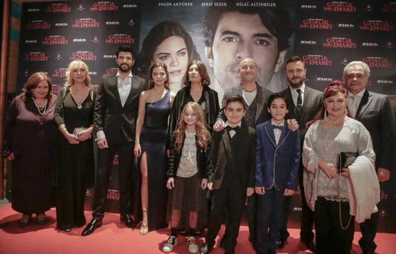 Çocuklar Sana Emanet filminin galası yapıldı