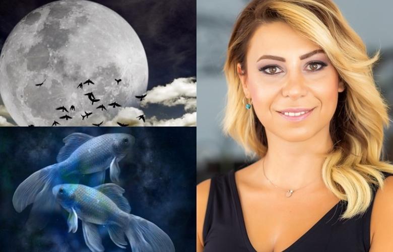 Güneş Balık Burcu'na geçiyor ve gökyüzünde Balık Burçlarının dönemini başlatıyor! Başak Burcu'ndaki Dolunay'ın etkisi çok çok güçlü! Astrolog Sema Sidar'dan yeni haftanın yorumu!