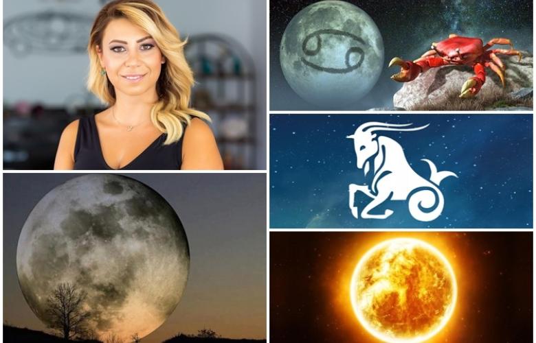 Güneş, Oğlak Burcu'na geçip gökyüzünde kış mevsimini resmen başlatacak! Yengeç Burcu'ndaki Dolunay'ın etkisi çok büyük olacak! Astrolog Sema Sidar farkıyla yeni haftanın ve yeni haftada burcunuzun yorumu