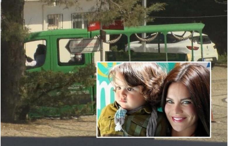 Ebru Şallı'nın oğlu son yolculuğuna uğurlandı