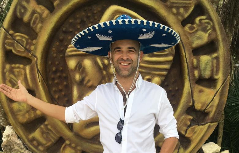 Murat Evgin Meksika'da klip çekti