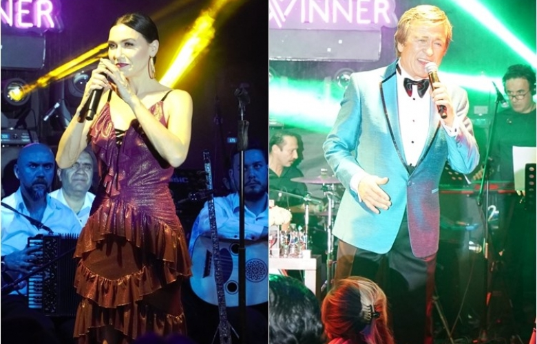 Winner İncek'te Erol Evgin ve Şevval Sam'dan Unutulmaz Konser