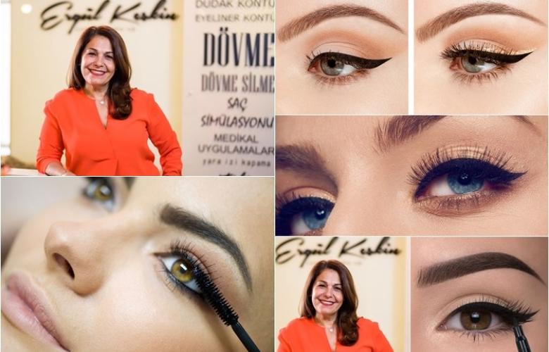 """Eyeliner sevenler! Bu yazı tam size göre. Ergül Keskin yazdı: """"Göz şeklinize göre eyeliner nasıl olmalı?"""""""