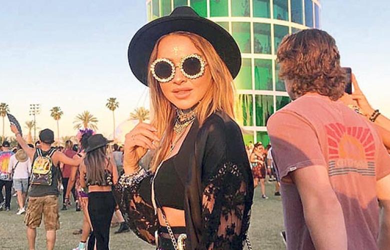 Hadise Coachella'da