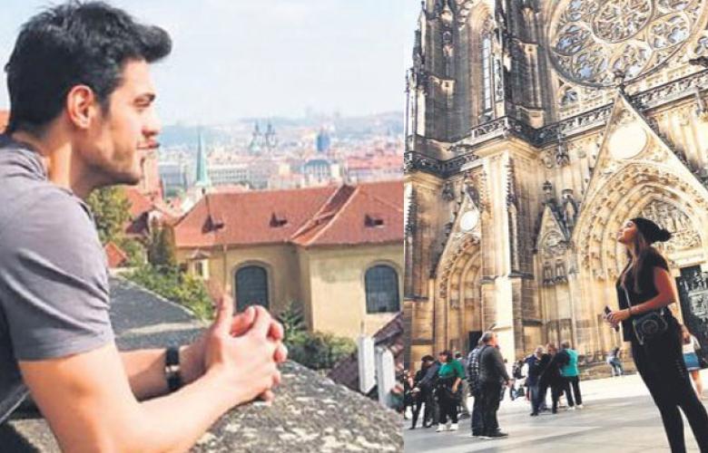 Mehmet Dinçerler'le aşk yaşayan Hande Erçel'i aldığı tepkiler yurt dışına kaçırdı!