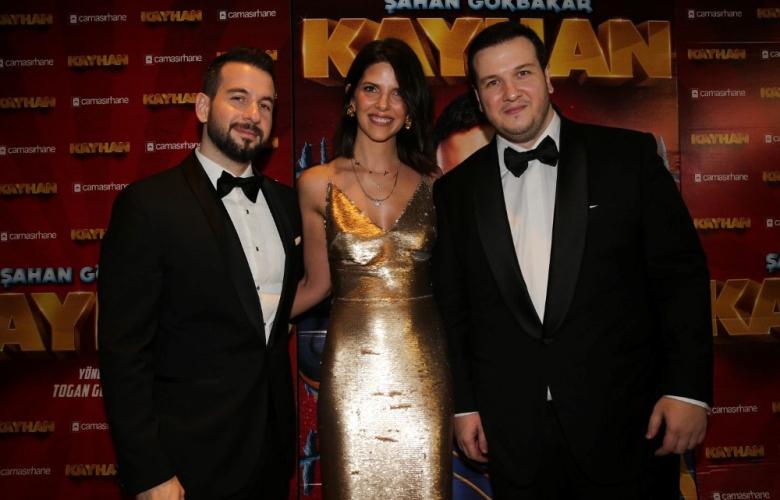 """Gişe rekortmeni Şahan Gökbakar'ın yeni filmi """"Kayhan""""a muhteşem gala!"""