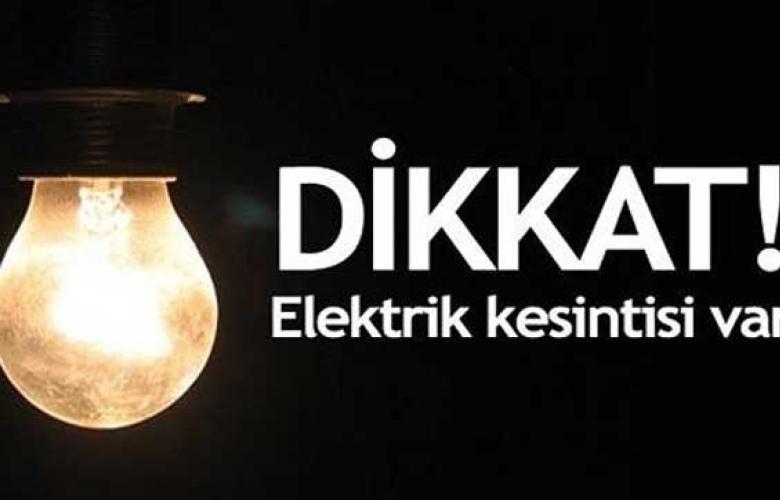 İstanbul'da geniş çaplı elektrik kesintisi! İşte 13 ilçe...