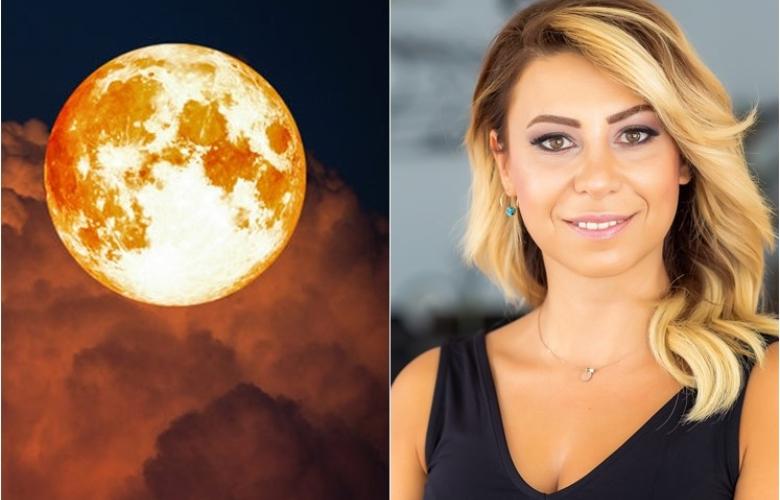 """Yılın ilk ay tutulması 21 Ocak'ta. """"Kanlı Ay tutulması""""nı ayrıntıları ve tüm etkileriyle Astrolog Sema Sidar yazdı"""