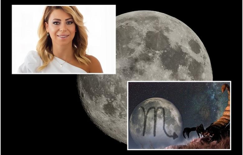 Astrolog Sema Sidar'dan 13 Mayıs haftasının astrolojik yorumu ve burcunuzun yorumları. Akrep Burcu'ndaki Dolunay'a hazır olun!