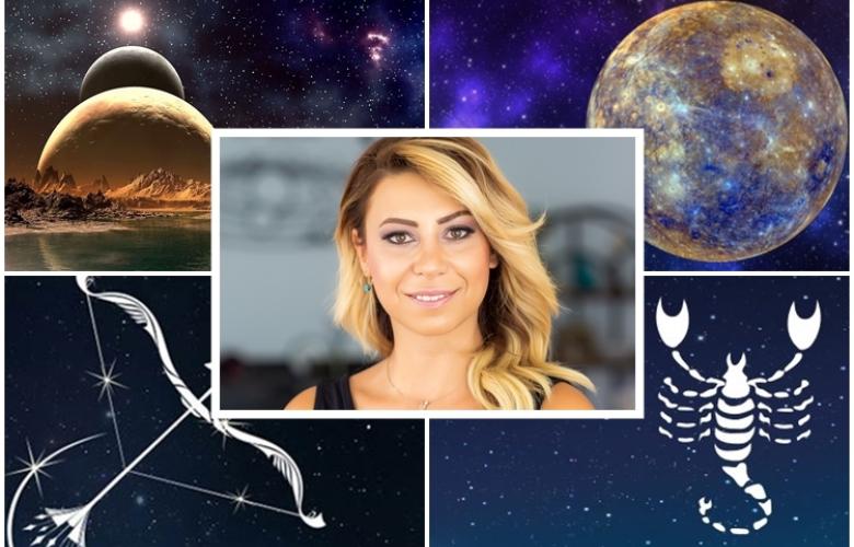 """Astrolog Sema Sidar: """"Kemerlerinizi bağlayın, hedeflerimize doğru harekete geçiyoruz!"""" Merkür Retrosu da bitiyor, gökyüzünde muhteşem etkiler başlıyor. Yeni haftanın yorumu ve burç yorumlarınız!"""