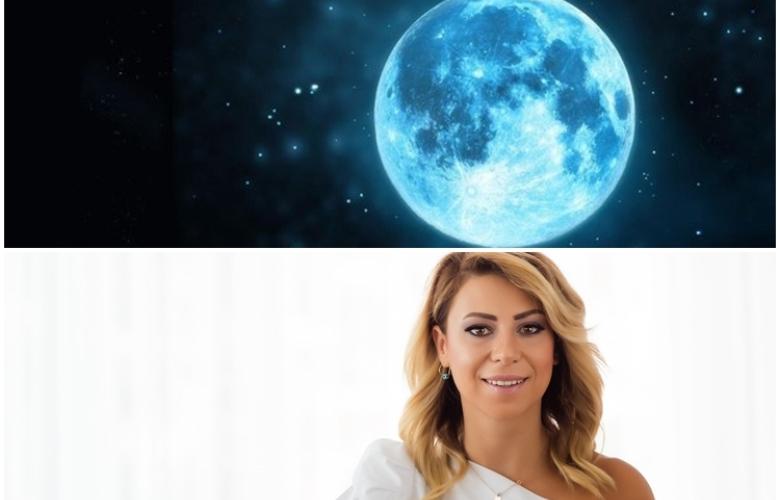 Mavi Dolunay geliyor! O da 2020'ye özel! Astrolog Sema Sidar'dan yeni haftanın yorumu. 1 yılda 12 Dolunay gerçekleşirken, 2020'de 13 Dolunay var!