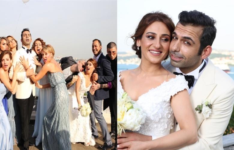 Derya Karadaş ve Haki Biçici'nin düğününe ünlü akını!