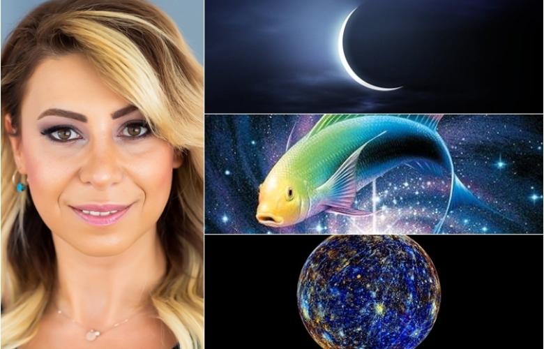 Merkür Retro'su, Yeni Ay ve Balık Burcu etkilerine hazır olun. Astrolog Sema Sidar'dan 17 Şubat haftasının ve yeni haftada burcunuzun yorumları!