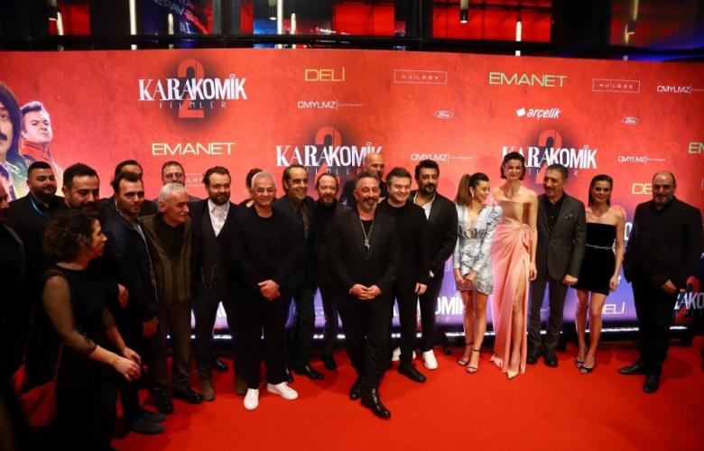 Karakomik Filmler 2 galası gerçekleştirildi