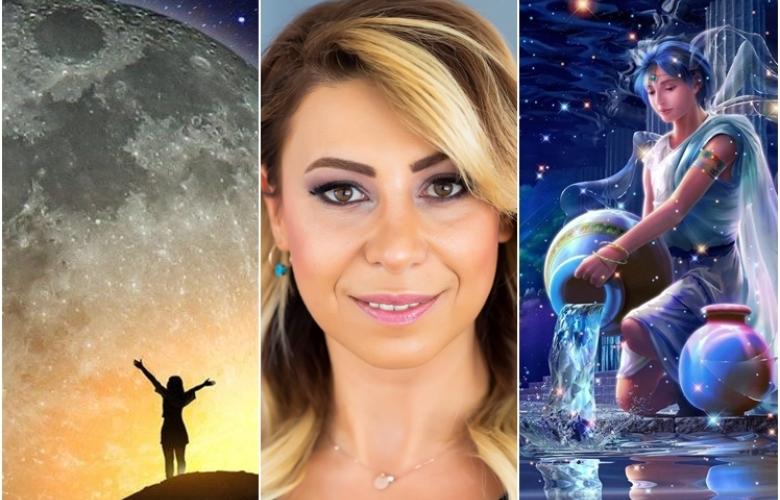 Kova Burcu'nda Dolunay Pazartesi günü! Etkileri çok büyük! Astrolog Sema Sidar'la 3 Ağustos haftasının gökyüzü yorumları