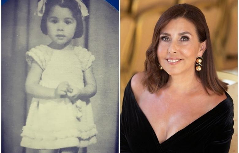 Nilüfer'in 23 Nisan coşkusuna çocukluk fotoğrafı eşlik etti