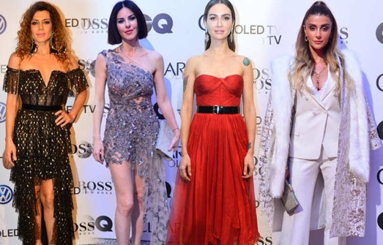 """""""GQ Türkiye Men Of The Year 2017"""" ödül töreninde şıklık yarışı"""