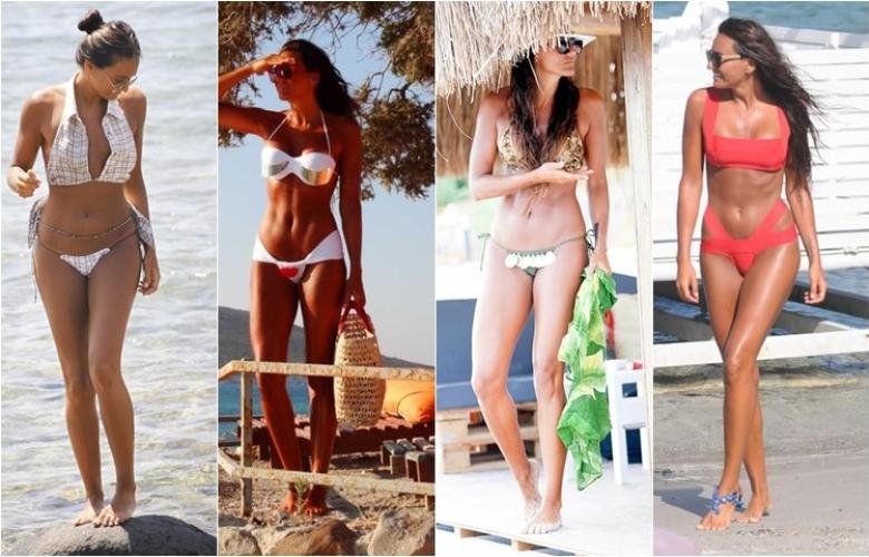 Yaz ve bronzluk deyince akla o geliyor! Eda Taşpınar'ın ilginç bikinileri.