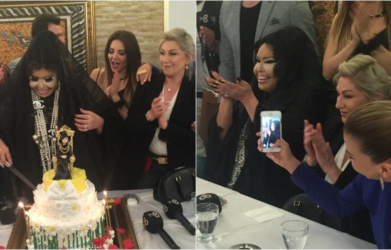 Bülent Ersoy'a sürpriz doğumgünü kutlaması!