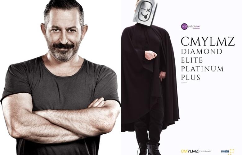 """Cem Yılmaz'ın yeni gösterileri başlıyor: """"'Diamond, Elite, Platinum Plus"""""""