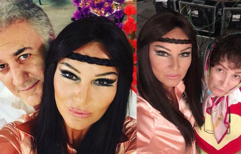 Pınar Altuğ 70'li yıllara döndü!