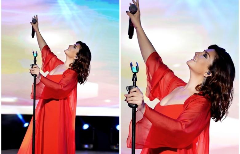 KONSER: Sibel Can Antalya'da sahneye çıktı