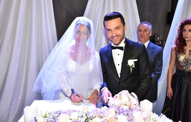 Sinan Özen, muhteşem bir düğünle dünya evine girdi!