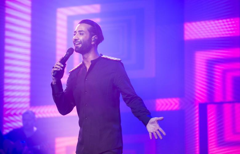Tan Taşçı'dan Arap Idol Şampiyonu'na Şarkı