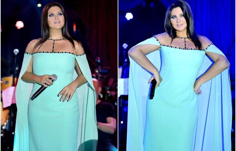 Sibel Can Kıbrıs'da sahneye çıktı