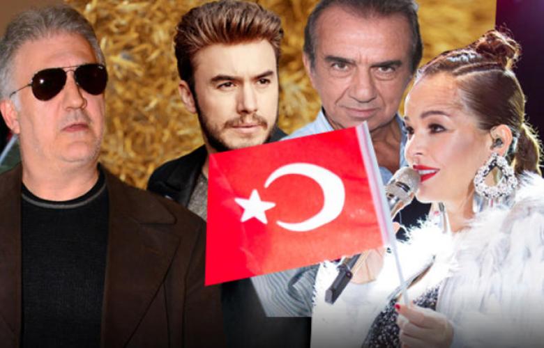 """Sınıra giden ünlü isimlerden yeni hamle: """"Türkiye Marşı"""""""