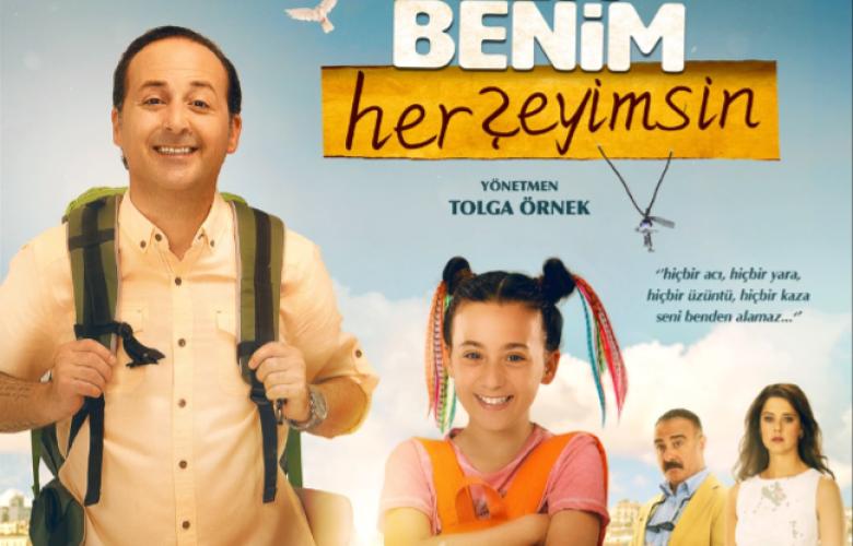 """Başrollerini Tolga Çevik ve Melis Birkan'ın paylaştığı """"Sen Benim Herşeyimsin"""" 12 Aralık Salı akşamı TV8'de"""