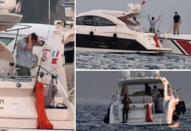 Çağatay ve Kıvanç'a büyük şok! Sahil güvenliği alarma geçti!