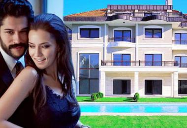 İşte Burak Özçivit ve Fahriye Evcen'in yeni evi