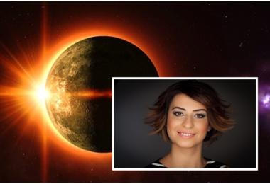 """Astrolog Sema Sidar 26 Şubat'taki """"güneş tutulması""""nı yazdı!"""