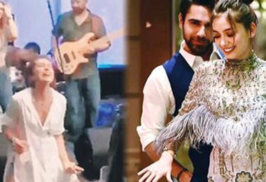 Neslihan Atagül'ün çılgın dansı!