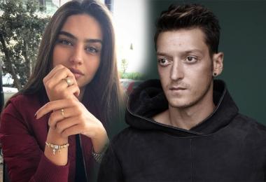 Mesut Özil ve Amine Gülşe ilk kez el ele!